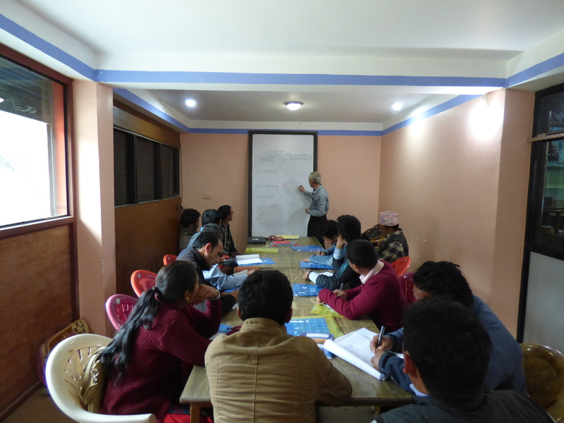 Headteachers' Workshop in Melamchi